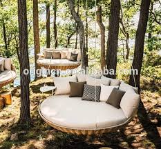 Comfortable Leisure Hanging Tree Furniture For Sunbathing Wicker - Tree furniture