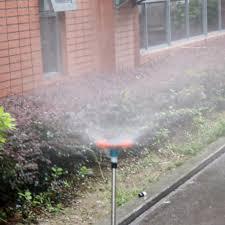 3 pcs 1 2 u0027 u0027 adjustable plastic trident rotary nozzle for garden