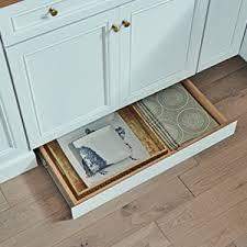 standard cabinet toe kick dimensions cabinet toe kick drawers for kitchen storage kraftmaid