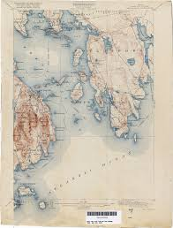 George Mason Map Maine Historical Topographic Maps Perry Castañeda Map Collection