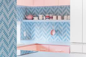 best white paint for kitchen cabinets 2020 australia 17 kitchens that go bold with pastels dwell