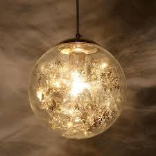 Clear Glass Pendant Light Fixtures Designer Globe Clear Glass Pendant Lights For Bedroom