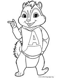 epic alvin chipmunks coloring pages 69 coloring books