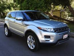 chrome range rover evoque 2013 land rover range rover evoque pure plus one owner factory