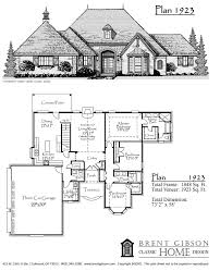Classic Home Floor Plans Plans Brent Gibson