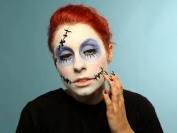 halloween makeup tutorial creepy ragdoll hgtv