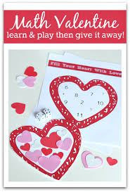 valentine u0027s day math activity no time for flash cards