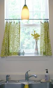 Curtain Designs For Kitchen by Kitchen Curtain Ideas Small Windows
