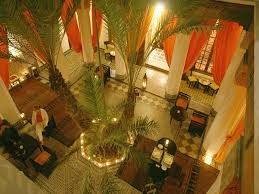 i love how in the old moroccan homes you have this central inner
