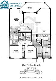 Beach Homes Plans Links At Harbour Village In Ponce Inlet Floor Plans
