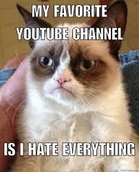 Macro Meme - cat macro grumpy cat know your meme