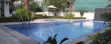 Biggest Backyard Pool by Blosssoms Associates Swimming Pool Designer Chennai Swimming