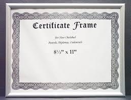 document frame rmckenzie enterprises p3 900 8 5 x 11 certificate frame