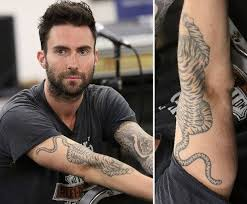 adam levine tiger fresh tattoos tiger