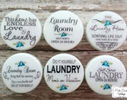 Laundry Room Cabinet Knobs Laundry Knobs Etsy