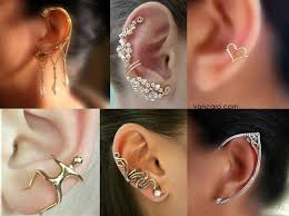 ear cuffs for pierced ears 396 best ear cuffs images on jewelry ear cuffs and