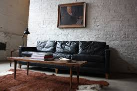 Black Leather Mid Century Sofa Charming Century Leather Sofa Best Mid Century Modern Leather Sofa