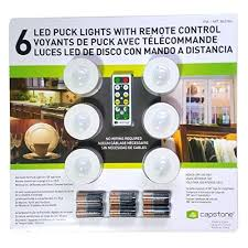 battery powered remote led lights