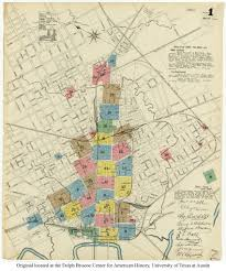 Maps Dallas Sanborn Maps Of Texas Perry Castañeda Map Collection Ut