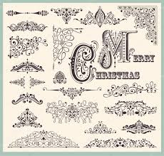 Vintage Ornaments by Vector Set Of Vintage Ornaments And Design Elements U2014 Stock Vector
