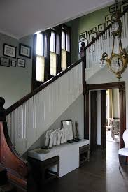 Victorian Banister Imaginative White And Dark Wood Railing Staircase Traditional With