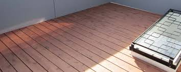 what causes a warped roof deck