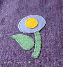 felt applique the happy quilter s