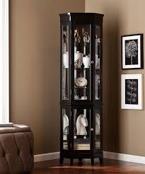 southern enterprises china cabinet love this black essex lighted corner curio by southern enterprises