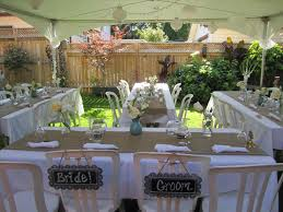 backyard wedding reception ideas for summer backyard fence ideas