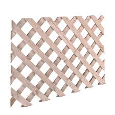 wood lattice panels diy