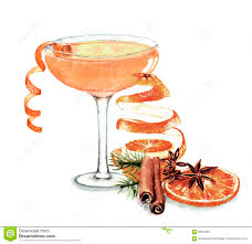 cocktail illustration cocktail watercolor illustration stock illustration image 69355807