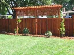 Privacy Fence Ideas For Backyard Easy Trellis To Add Privacy To Backyard Along Fence Line Would