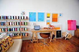 office decor colorful scandinavian office decor interior design ideas