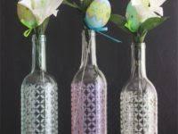 Upcycled Wine Bottles - 15 ways to upcycle empty wine bottles