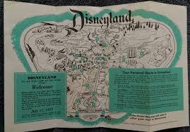 Disney Park Maps Disneyland Guide Maps Disneyland Maps