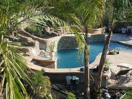 Small Pool Backyard Ideas by Pools Built On A Slope Northern Ca Owner Build 98 5 Done With