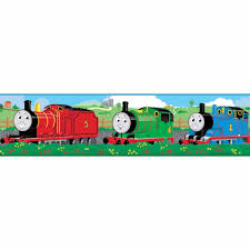 roommates thomas friends peel stick wallpaper border