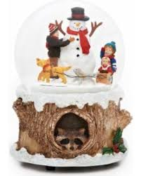 amazing shopping savings 6 inch dogs around snowman musical