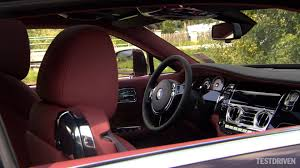 rolls royce blue interior 2014 rolls royce wraith interior youtube