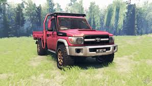 land cruiser 70 pickup toyota land cruiser 70 j79 v1 1 for spin tires