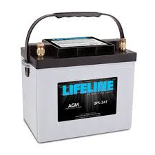 lifeline 12v 80 ah deep cycle sealed agm battery gpl 24t