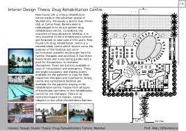 drug rehabilitation center floor plan interior and furniture design portfolio