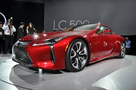 lexus concept cars 2018 lexus lc 500 preview video