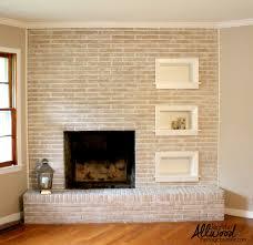 paint fireplace brick