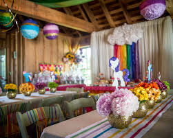 my pony centerpieces themed party ideas the celebration society