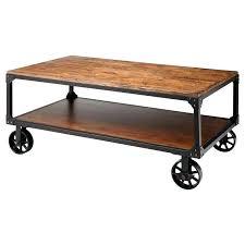 Rolling Coffee Table Rolling Coffee Table Gmsousa