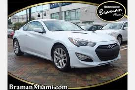 used hyundai genesis coupe for sale in miami fl edmunds