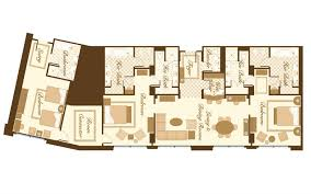 Bellagio Floor Plan Bellagio 2 Bedroom Penthouse Suite Bellagio 2 Bedroom Penthouse