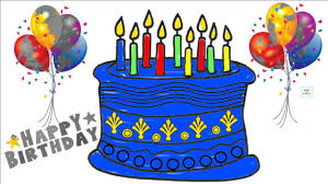 learn colors for kids with this fun cartoon birthday cake balloon