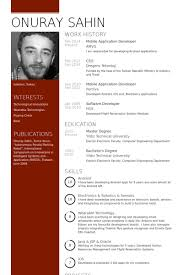 Sample Resume For Master Degree Application by Application Developer Resume Samples Visualcv Resume Samples